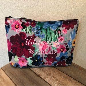 31 Essentials, Floral Make-Up Bag
